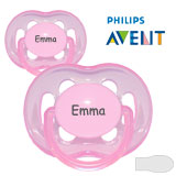 Philips Avent, symmetrical, silicone size.2