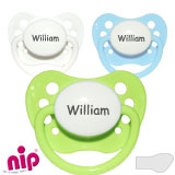 Nip, orthodontic, silikone size 1
