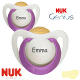 Nuk Genius, orthodontic, latex size 2