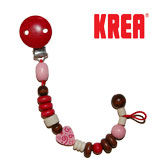 Krea dummy holder  with hearts, red