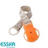Esska dummy holder with clouds, orange