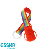 Esska dummy holder with rainbow