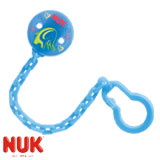 NUK dummy chain, blue