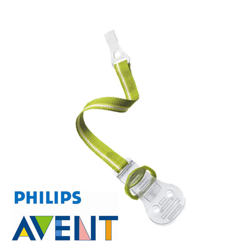 Philips Avent dummy holder, pink