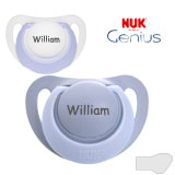 Nuk Genius, orthodontic, silicone size 2