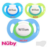 Nûby Classic MyDummies, orthodontic, silicone, size 1