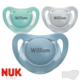 Nuk Starlight, orthodontic, silicone size 2