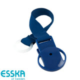 Esska Click dummy holder, blue