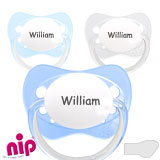 Nip Family MyPacifiers, orthodontic, silicone, size 1