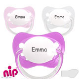 Nip Family MyDummies, orthodontic, silicone, size 1