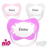 Nip Family MyDummies, orthodontic, silicone, size 2