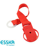 Esska Click dummy holder, red
