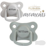 Filibabba Moments MyDummies, symmetrical, silicone, size 2