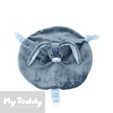 My Teddy security blanket, My Newborn Collection, blue, rabbit (mini)