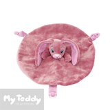 My Teddy security blanket, My Newborn Collection, pink, rabbit (mini)