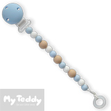My Teddy Dummy Chain, My Baby Rocks, blue