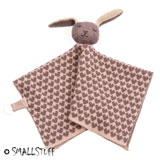 Smallstuff cuddle cloth, knitted, Rabbit Powder