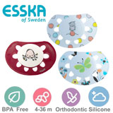 Esska Classic, orthodontic, silicone, size 2